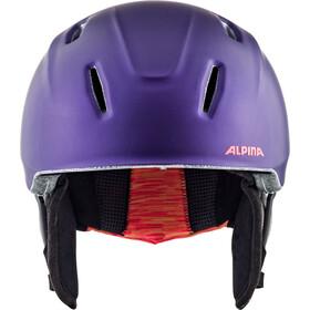 Alpina Carat XT Casco de esquí Niños, royal-purple matt